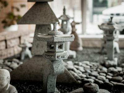 Naturstein-Gestaltungselemente